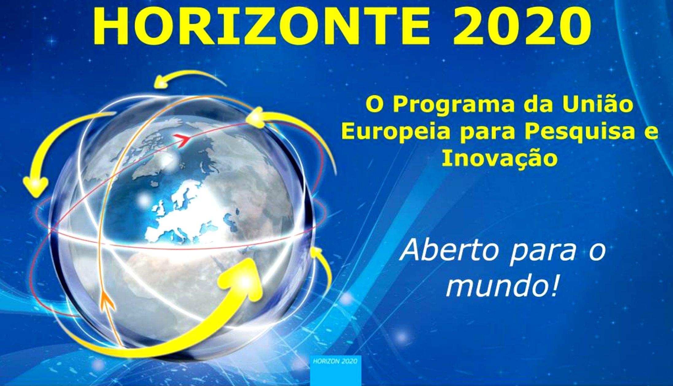 Apoios turismo Programa Horizonte 2020