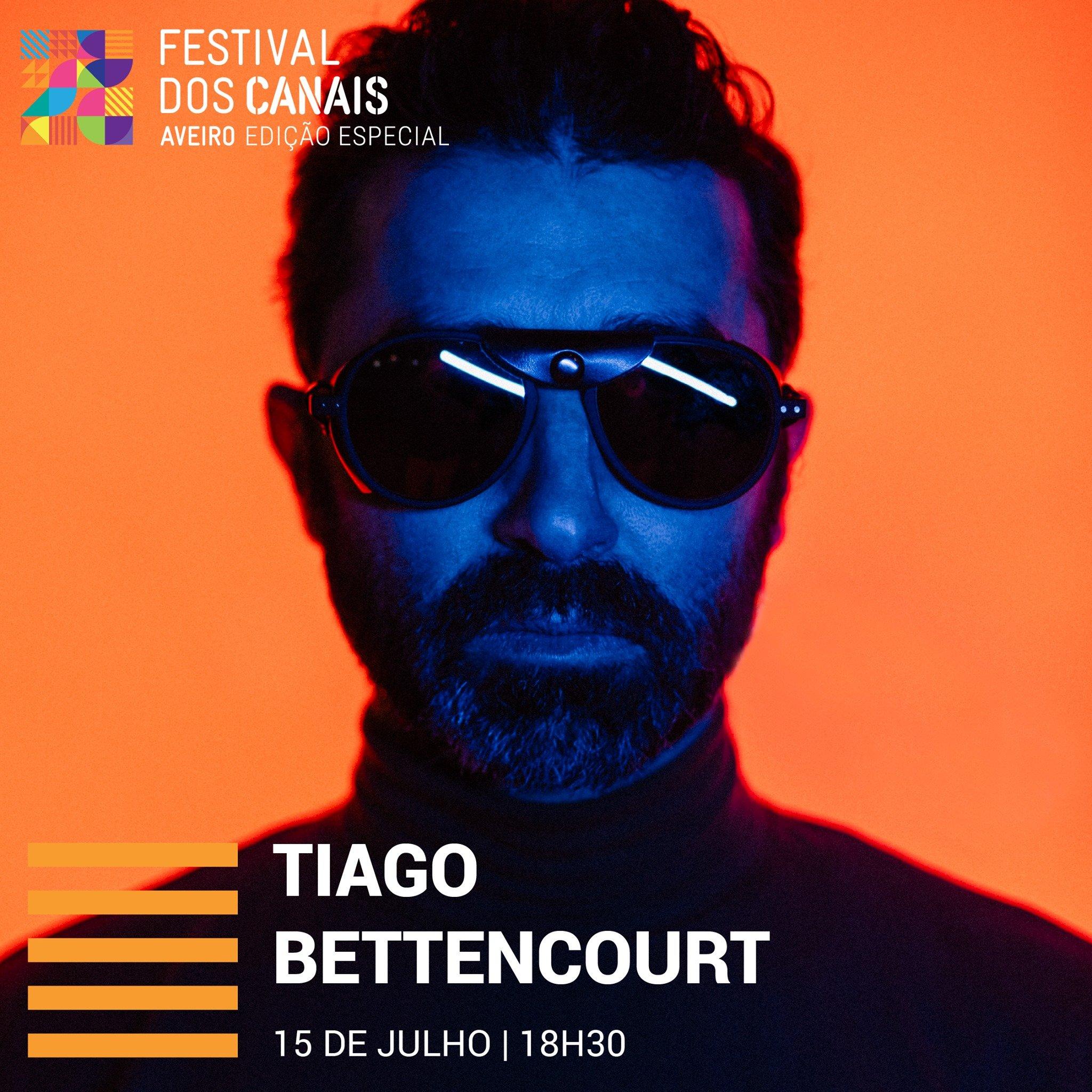 Festival dos Canais em Aveiro Tiago Bettencourt
