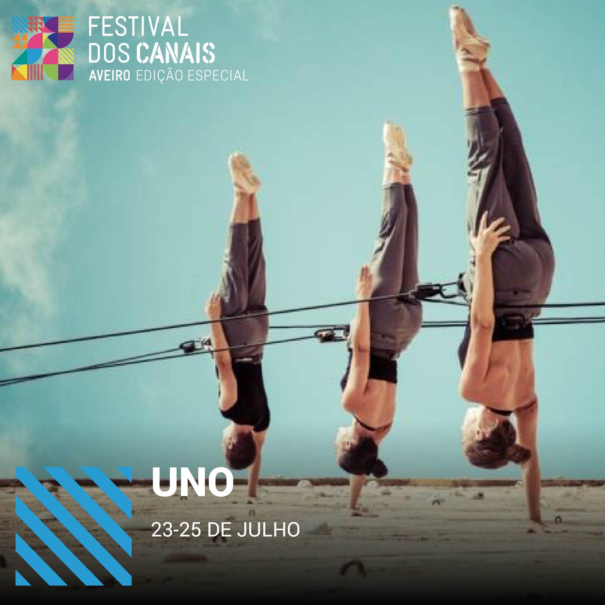 Espetáculo UNO Festival dos Canais 2021