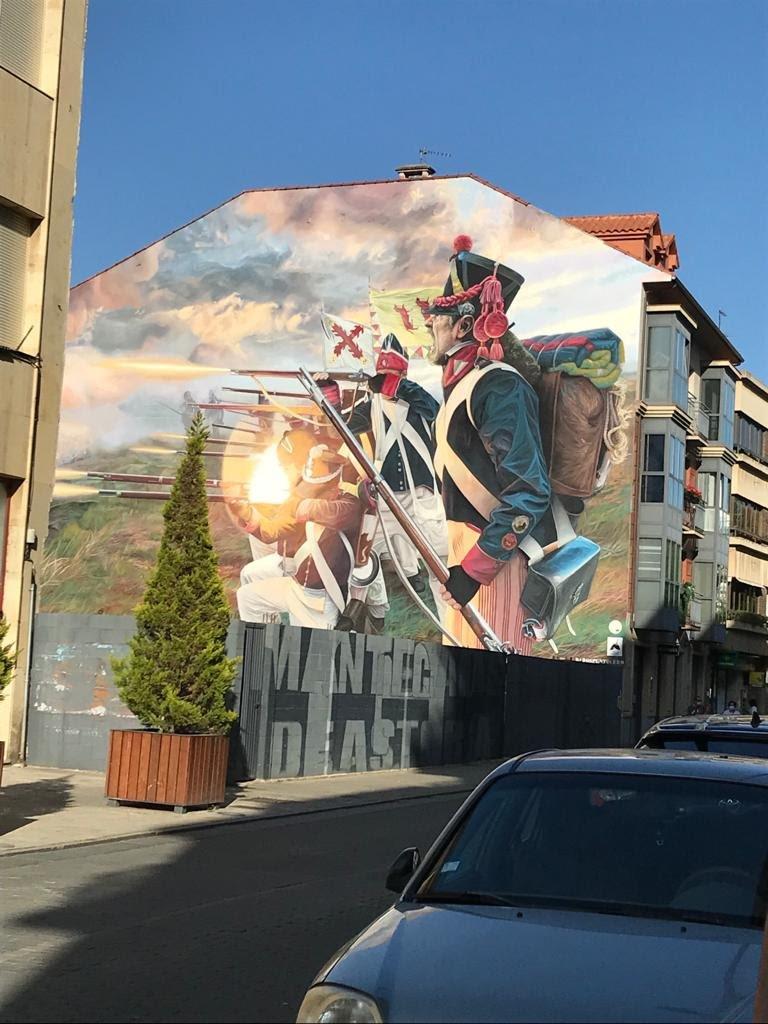 Arte Urbana Invasões Napoleónicas
