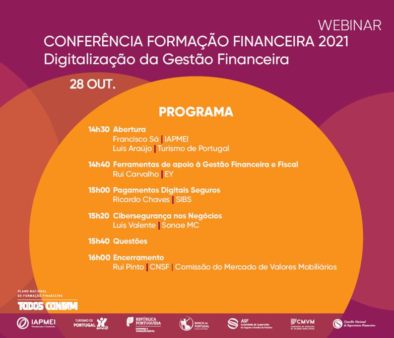 Formação Financeira 2021 Digitalização da Gestão Financeira