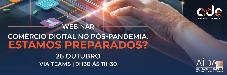 Webinar: O Comércio digital no pós-pandemia